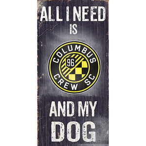 Columbus Crew Soccer and My Dog Sign