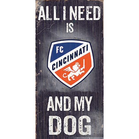 FC Cincinnati Soccer and My Dog Sign