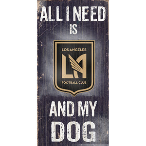 Los Angeles FC Soccer and My Dog Sign