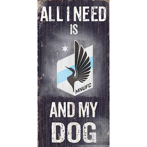 Minnesota United Soccer and My Dog Sign