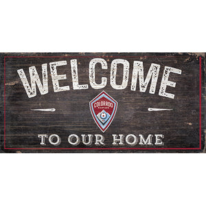 Colorado Rapids Welcome Sign
