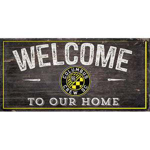 Columbus Crew Welcome Sign