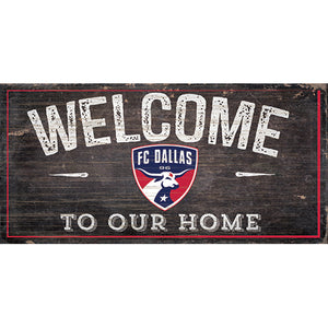 FC Dallas Welcome Sign