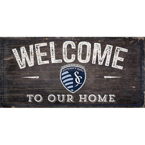 Kansas City Sporting Welcome Sign