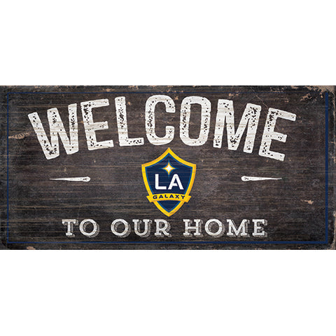 LA Galaxy Welcome Sign