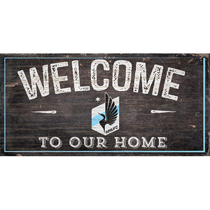 Minnesota United Welcome Sign