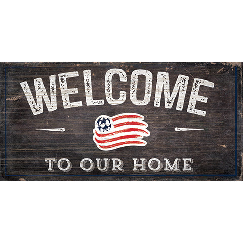 New England Revolution Welcome Sign