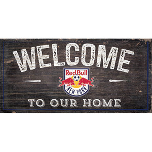 New York Redbulls Welcome Sign