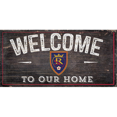 Real Salt Lake Welcome Sign