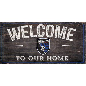 San Jose Earthquakes Welcome Sign