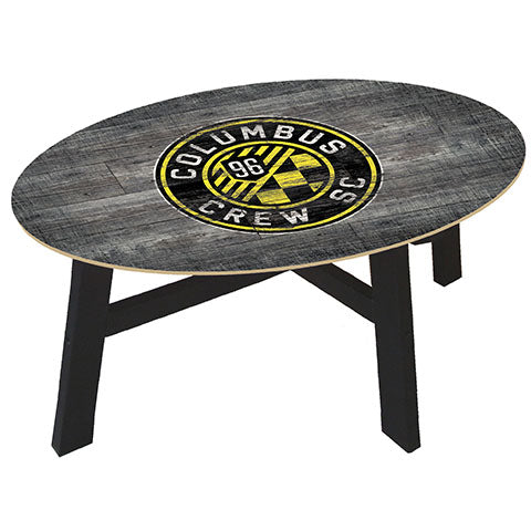 Columbus Crew Distressed Wood Coffee Table