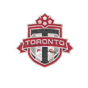 Toronto FC Distressed Logo Cutout Sign