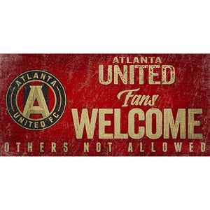 Atlanta United Fans Welcome 6x12