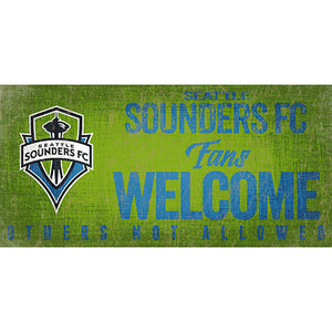 Seattle Sounders Fans Welcome 6x12