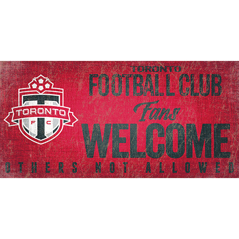 Toronto FC Fans Welcome 6x12