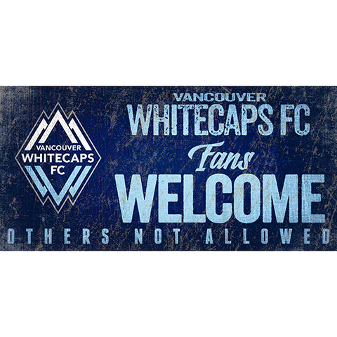 Vancouver Whitecaps Fans Welcome 6x12