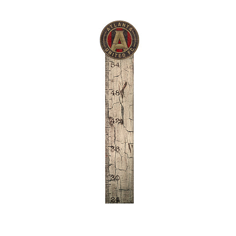 Atlanta United Growth Chart Sign 6x36