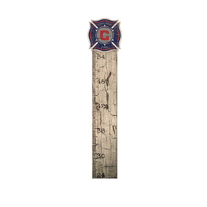 Chicago Fire Growth Chart Sign 6x36