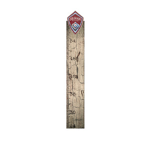 Colorado Rapids Growth Chart Sign 6x36