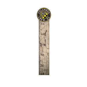 Columbus Crew Growth Chart Sign 6x36