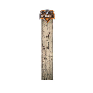 Houston Dynamo Growth Chart Sign 6x36