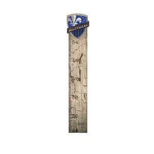 Montreal Impact Growth Chart Sign 6x36