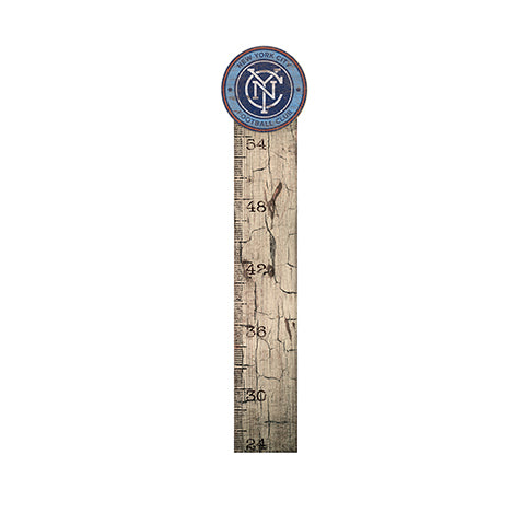 New York City FC Growth Chart Sign 6x36