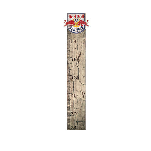 New York Red Bulls Growth Chart Sign 6x36