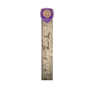 Orlando City Growth Chart Sign 6x36