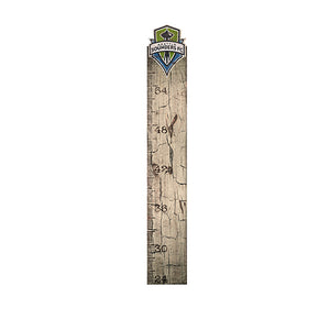 Seattle Sounders Growth Chart Sign 6x36