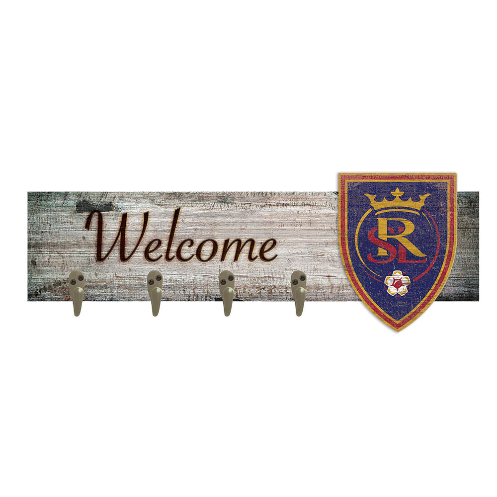 Real Salt Lake Coat Hanger 6x24