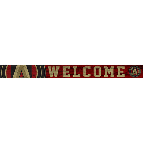 Atlanta United 16in. Welcome Strip