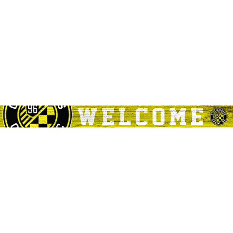 Columbus Crew 16in. Welcome Strip