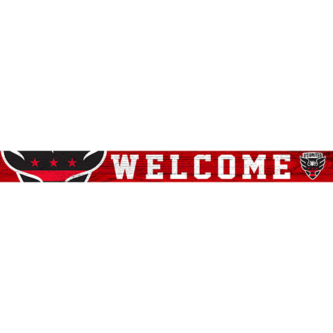 D.C. United 16in. Welcome Strip