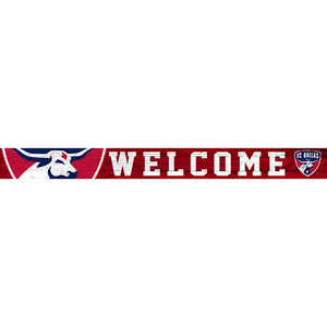 FC Dallas 16in. Welcome Strip