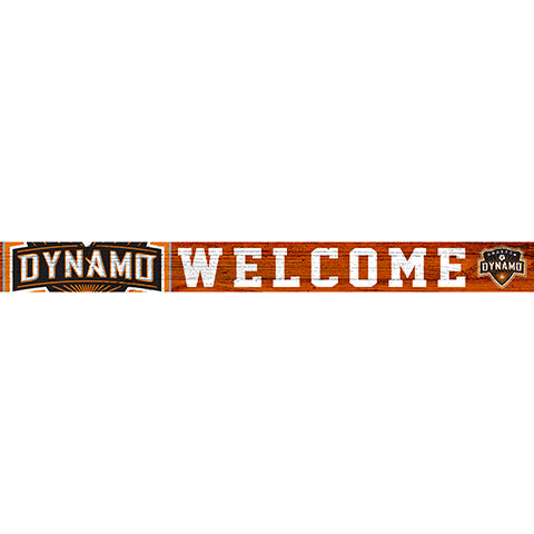 Houston Dynamo 16in. Welcome Strip