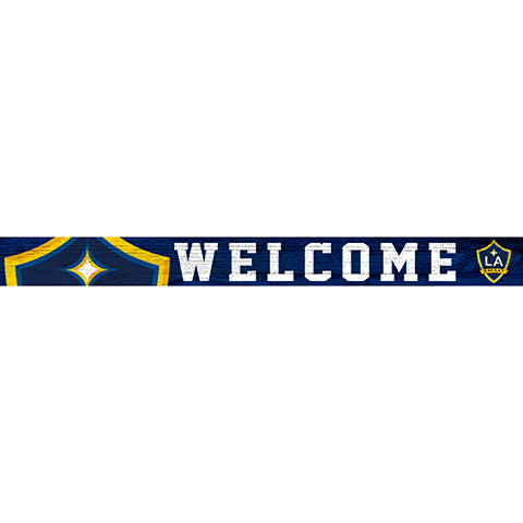LA Galaxy 16in. Welcome Strip