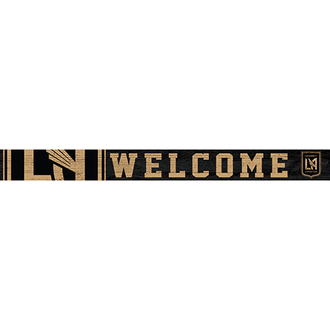 Los Angeles FC 16in. Welcome Strip