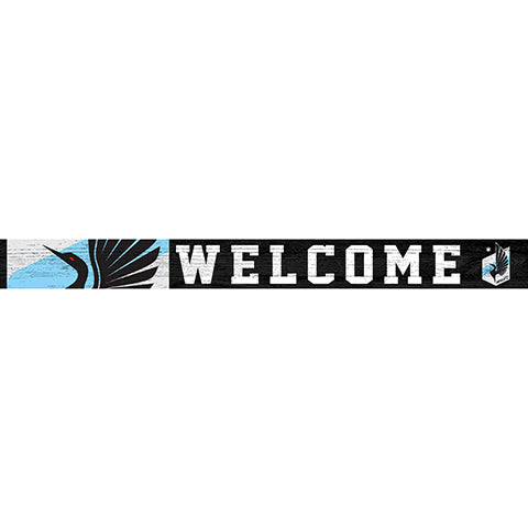 Minnesota United 16in. Welcome Strip