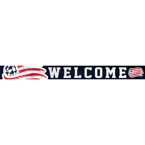 New England Revolution 16in. Welcome Strip