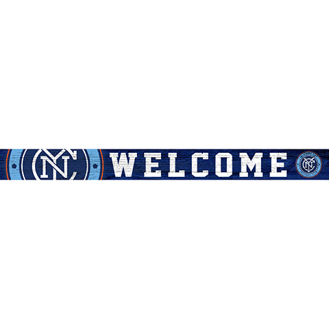 New York City FC 16in. Welcome Strip