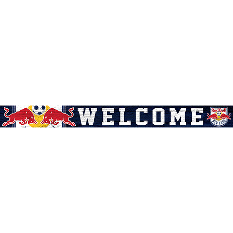 New York Red Bulls 16in. Welcome Strip