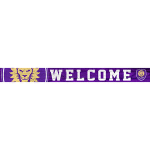 Orlando City 16in. Welcome Strip