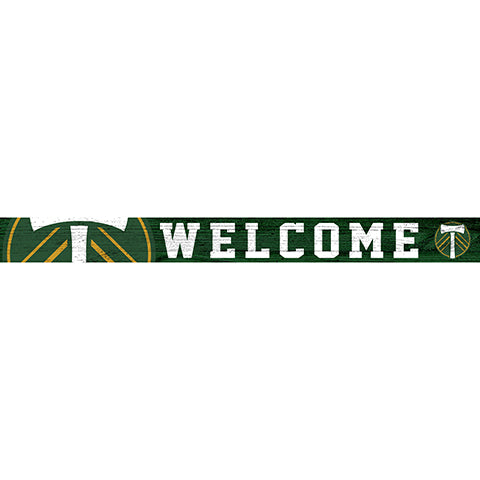 Portland Timbers 16in. Welcome Strip