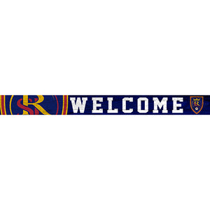 Real Salt Lake 16in. Welcome Strip