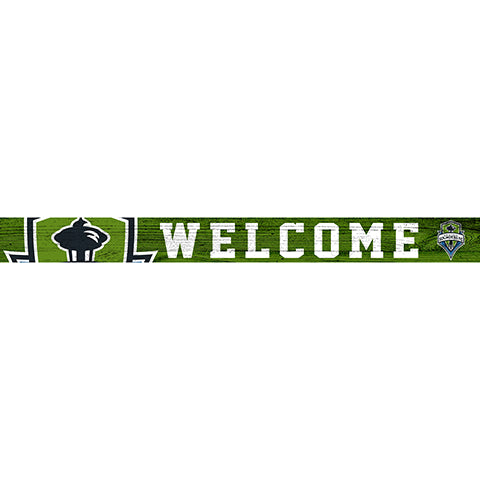 Seattle Sounders 16in. Welcome Strip