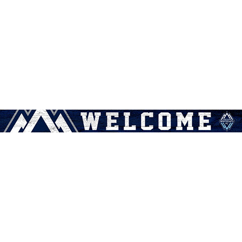Vancouver Whitecaps 16in. Welcome Strip