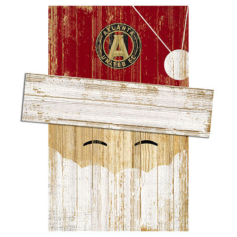 Atlanta United Santa Head