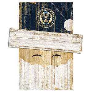 Philadelphia Union Santa Head