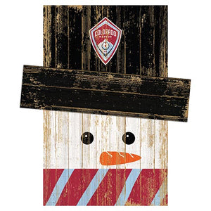 Colorado Rapids Snowman Head